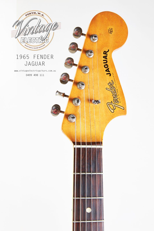1965 Jaguar Headstock Kluson