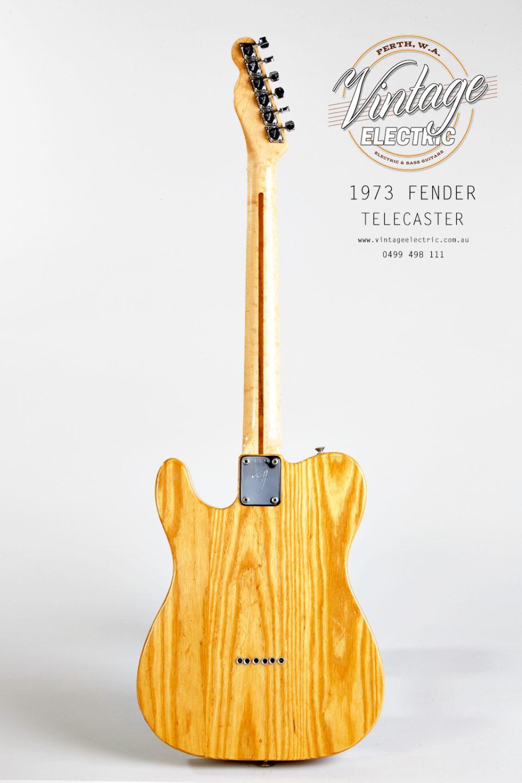 1973 Fender Telecaster Back