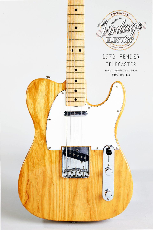 1973 Fender Telecaster Body