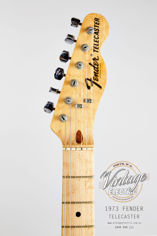 1973 Fender Telecaster Headstock