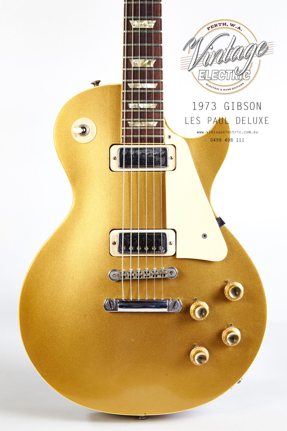 1973 Gibson Les Paul Deluxe Goldtop Body