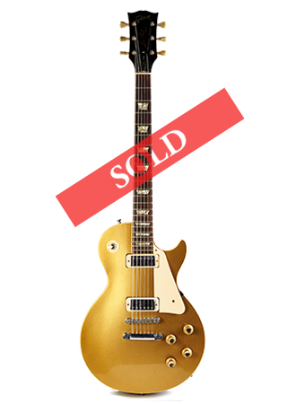 1973 Gibson Les Paul Gold Deluxe Sold