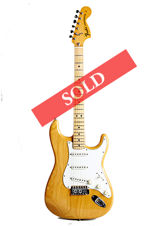 1974 Fender Stratocaster Natural