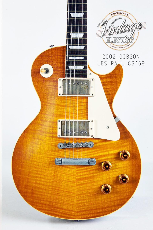 2002 Gibson Les Paul 58 Reissue Body