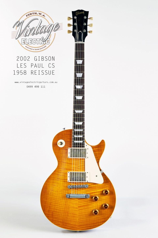 2002 Gibson Les Paul 58 Reissue Electric Guitar