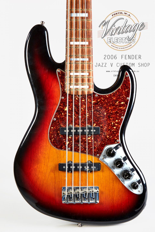 2006 Fender Jazz V Body