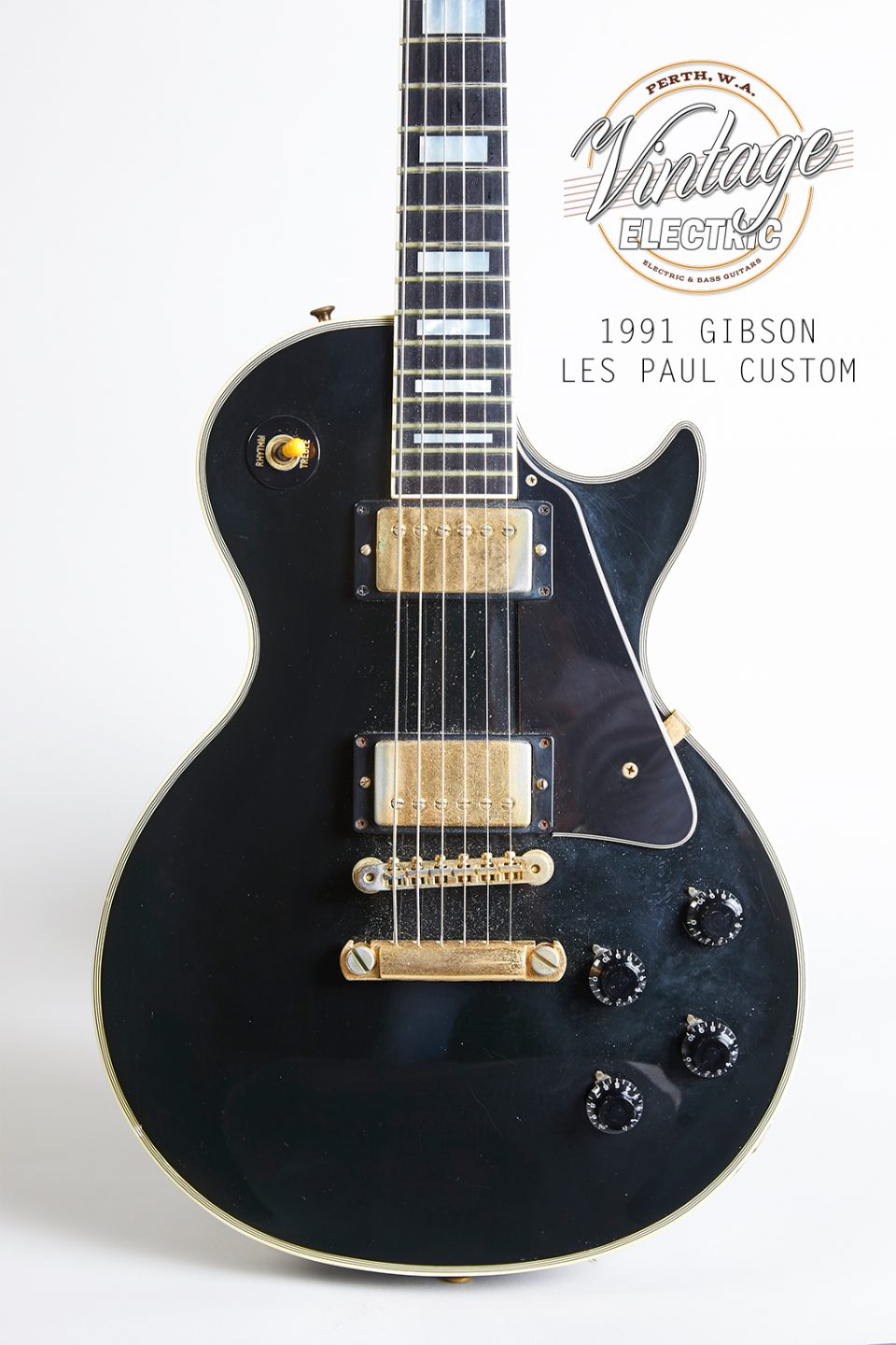 1991 Gibson Les Paul Custom Black Beauty Body