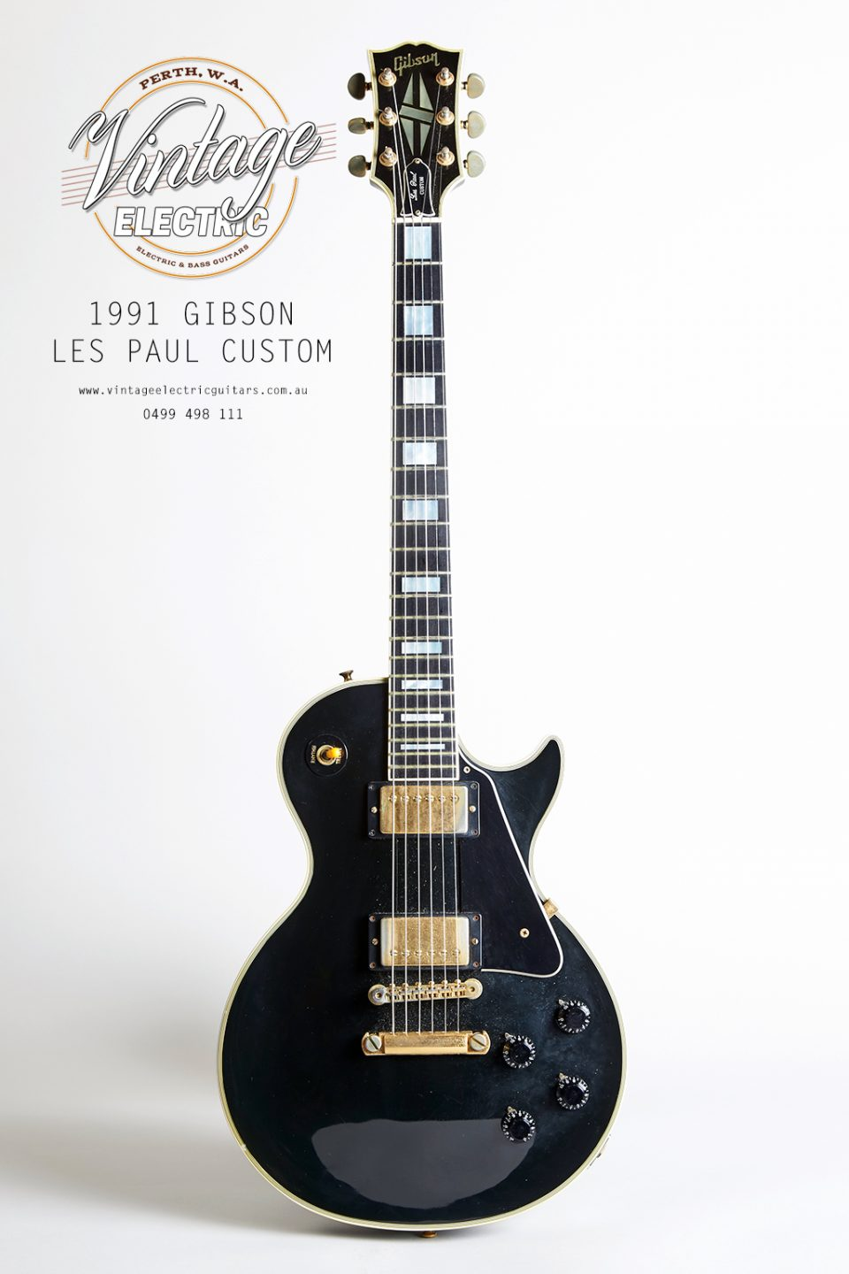 1991 Les Paul Custom Black Beauty