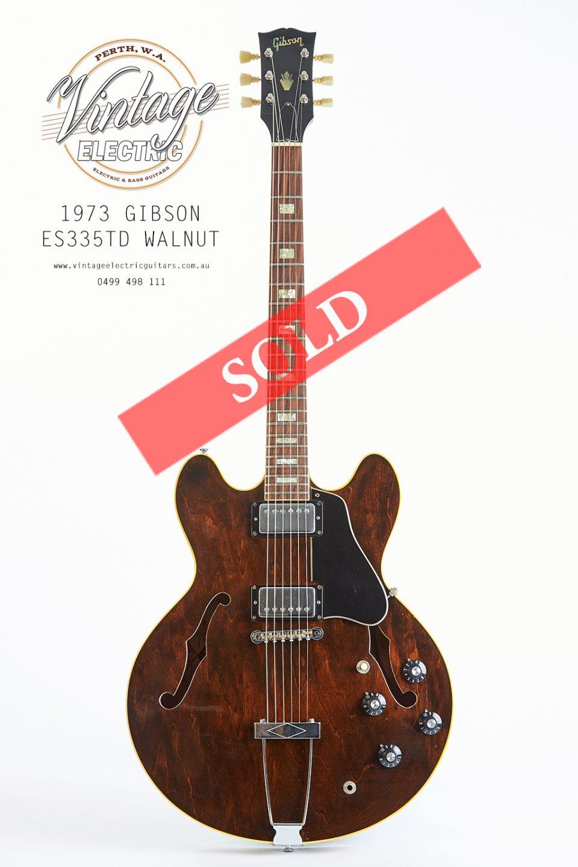 1973 gibson es335td vintage electric guitars. Black Bedroom Furniture Sets. Home Design Ideas