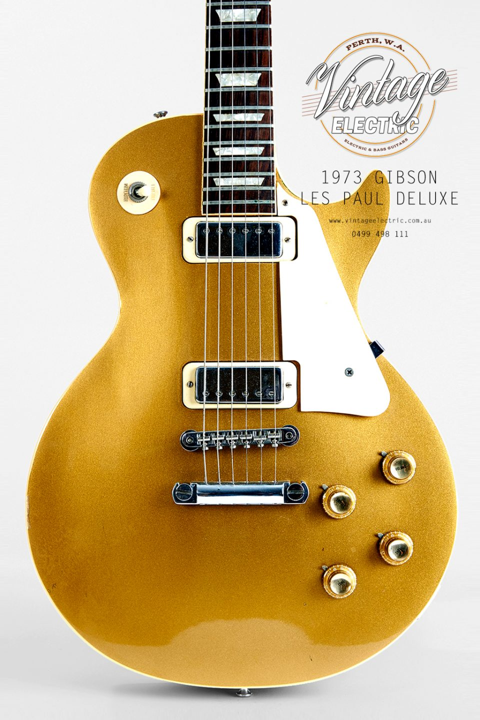 1973 Gibson Les Paul Deluxe Goldtop USA Body