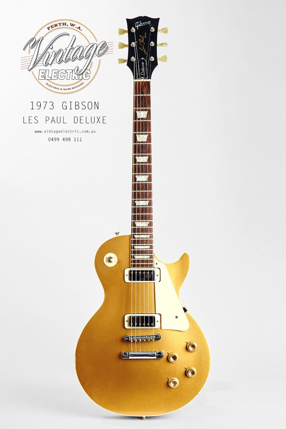 1973 Gibson Les Paul Goldtop Deluxe USA