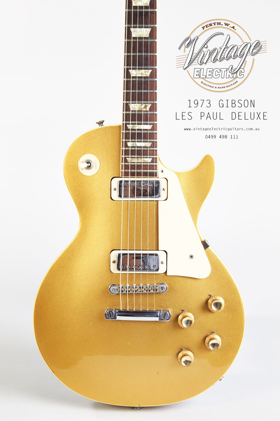 1973 Gibson Les Paul Goldtop Deluxe Body