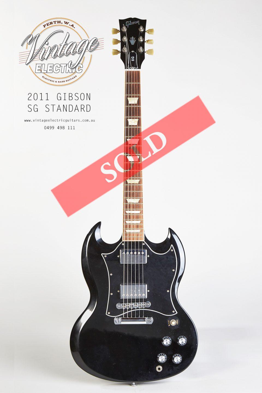 2011 Gibson SG Standard Guitar SOLD