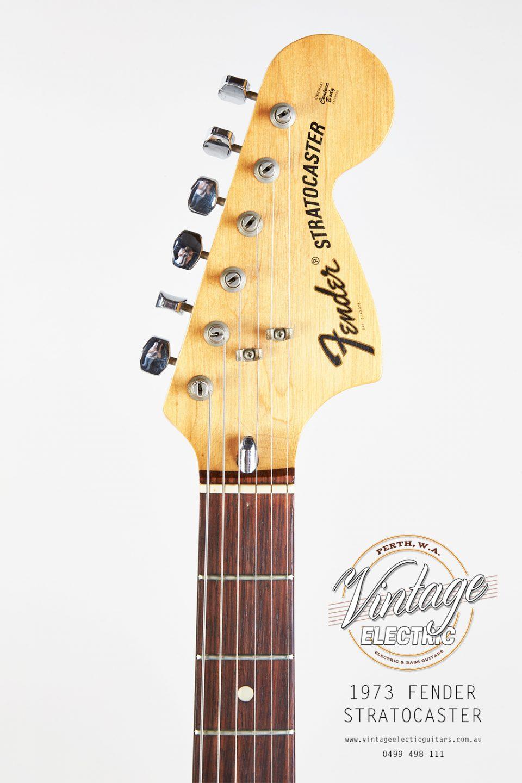 1973 Fender Stratocaster Headstock
