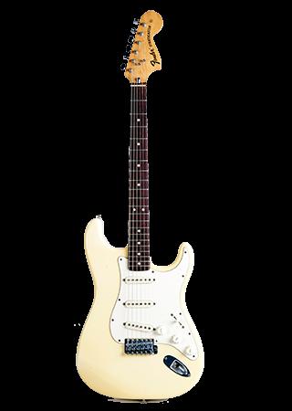 1974 Fender Stratocaster Olympic White