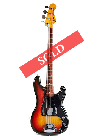 1975 Fender Precision SOLD