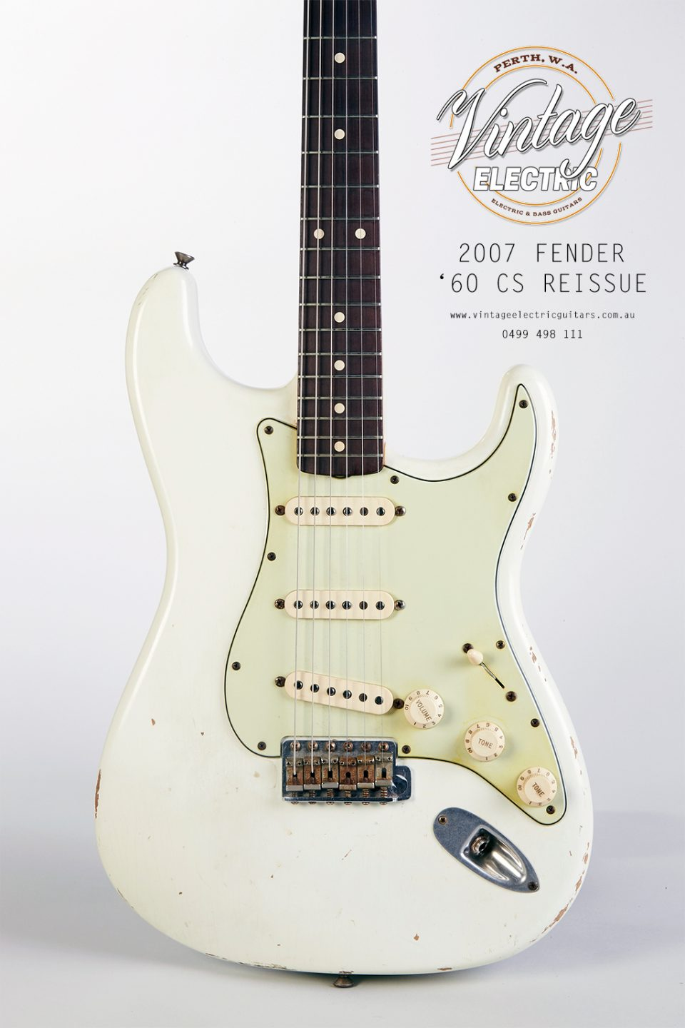 2007 Fender Stratocaster Custom Shop Body