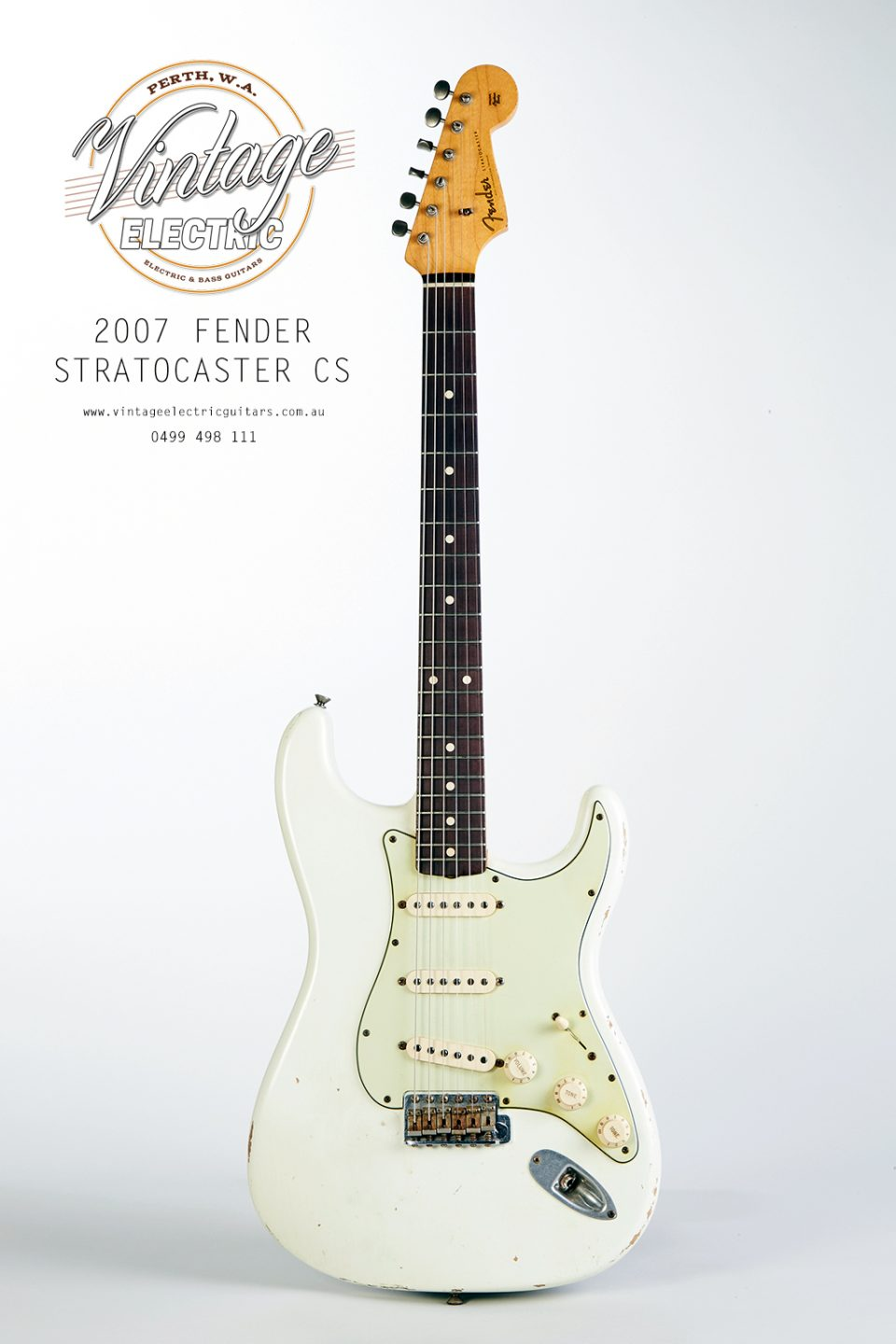 2007 Fender Stratocaster Custom Shop 1960 Reissue Electric Guitar