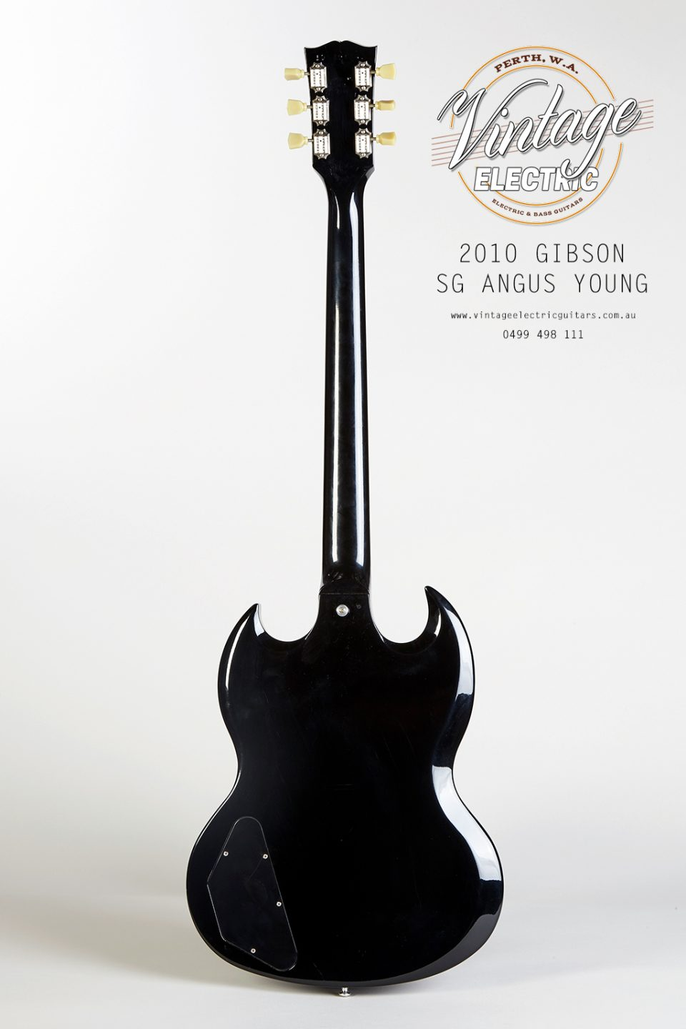2010 Gibson SG Angus Young Back of Body