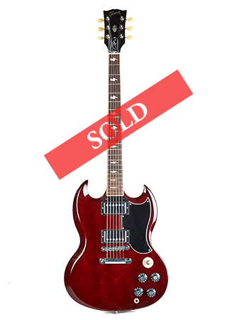 2013 Gibson SG Angus Young Sold