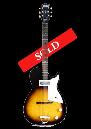 1961 Harmony Stratotone Sold