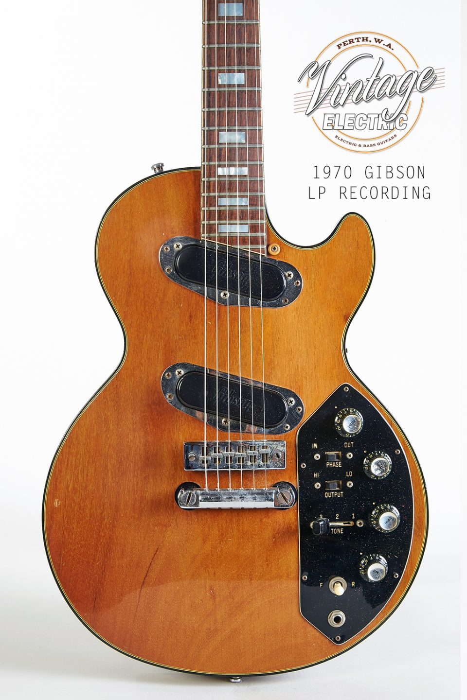 1970 Gibson Les Paul Recording Body