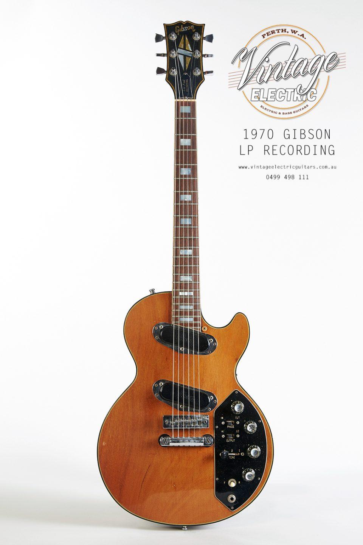 1970 Gibson Les Paul Recording Guitar Vintage Guitar USA