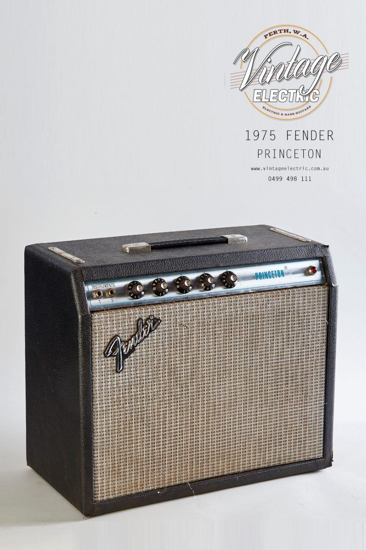 1975 Fender Princeton Silverface Amp