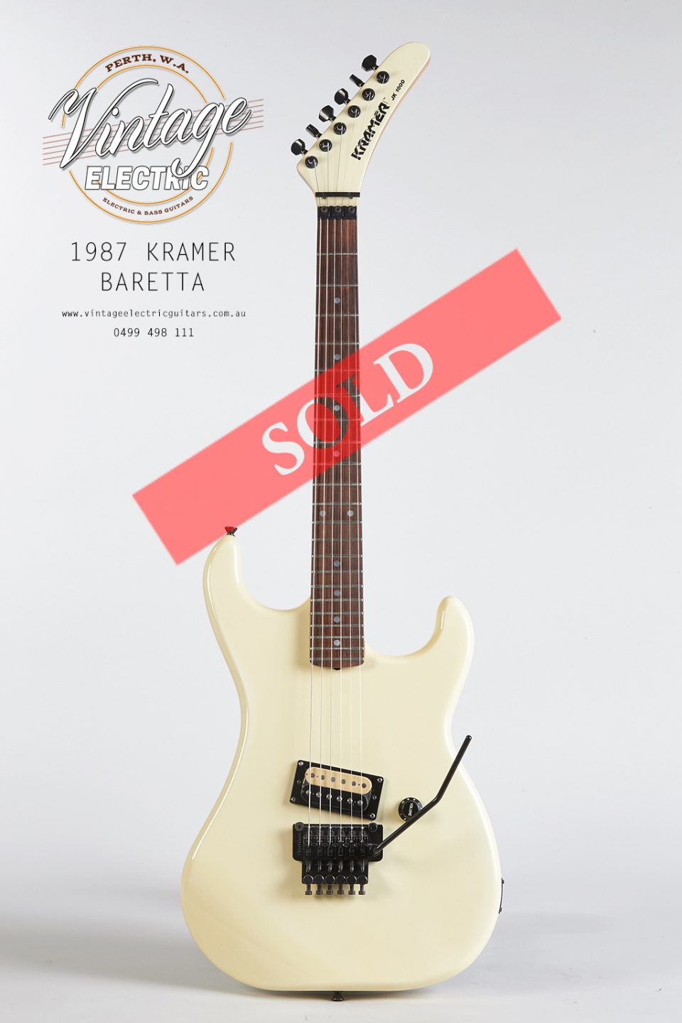 1987 Kramer Baretta Large SOLD
