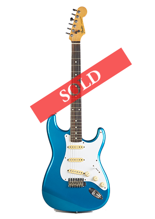 1988 Fender Stratocaster Blue Sold