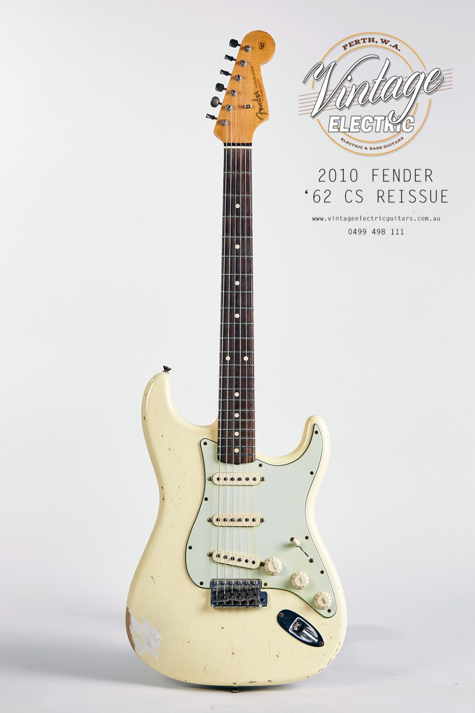 2010 Fender Stratocaster 1962 Custom Shop Reissue Guitar
