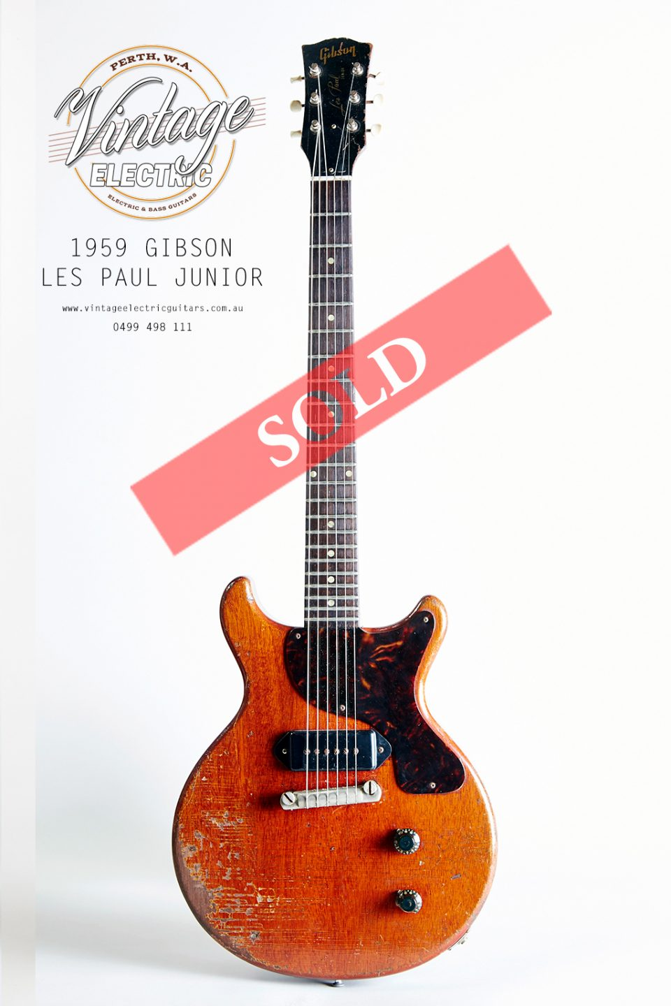 1959 Gibson Les Paul Jr Large SOLD