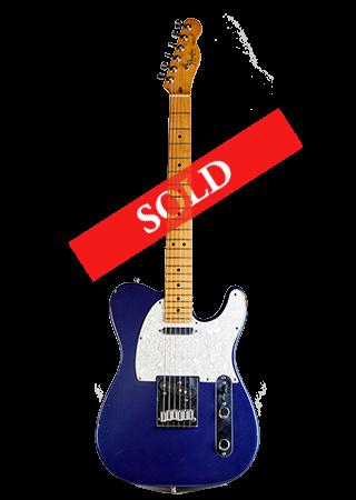 1989 Fender Telecaster Blue