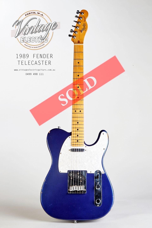 1989 Fender Telecaster