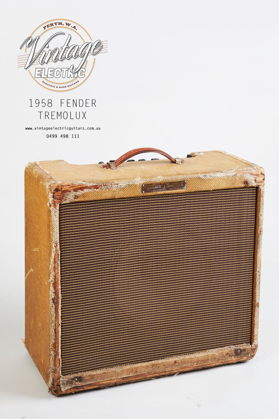 1958 Fender 4 Channel Tremolux