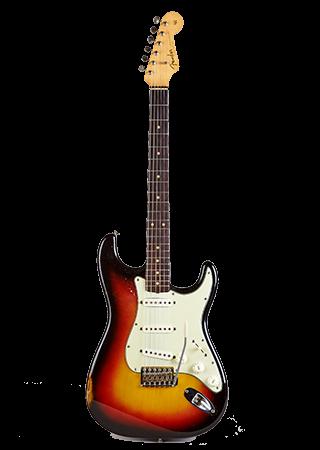 1963 Fender Stratocaster 3 Tone Sunburst