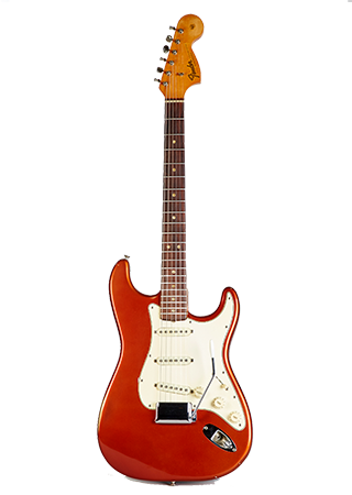1967 Fender Stratocaster Candy Apple Red