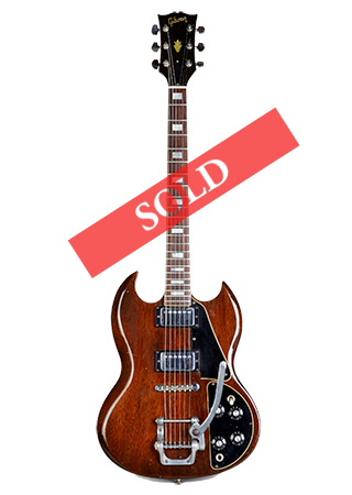 1971 Gibson SG Deluxe Sold