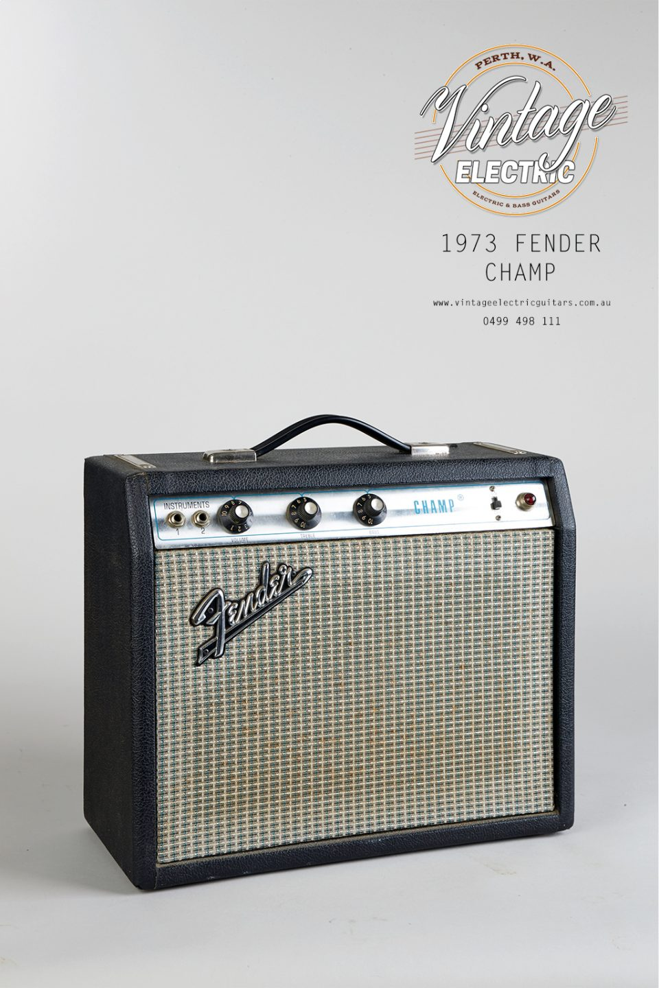 1973 Fender Champ Amplifier