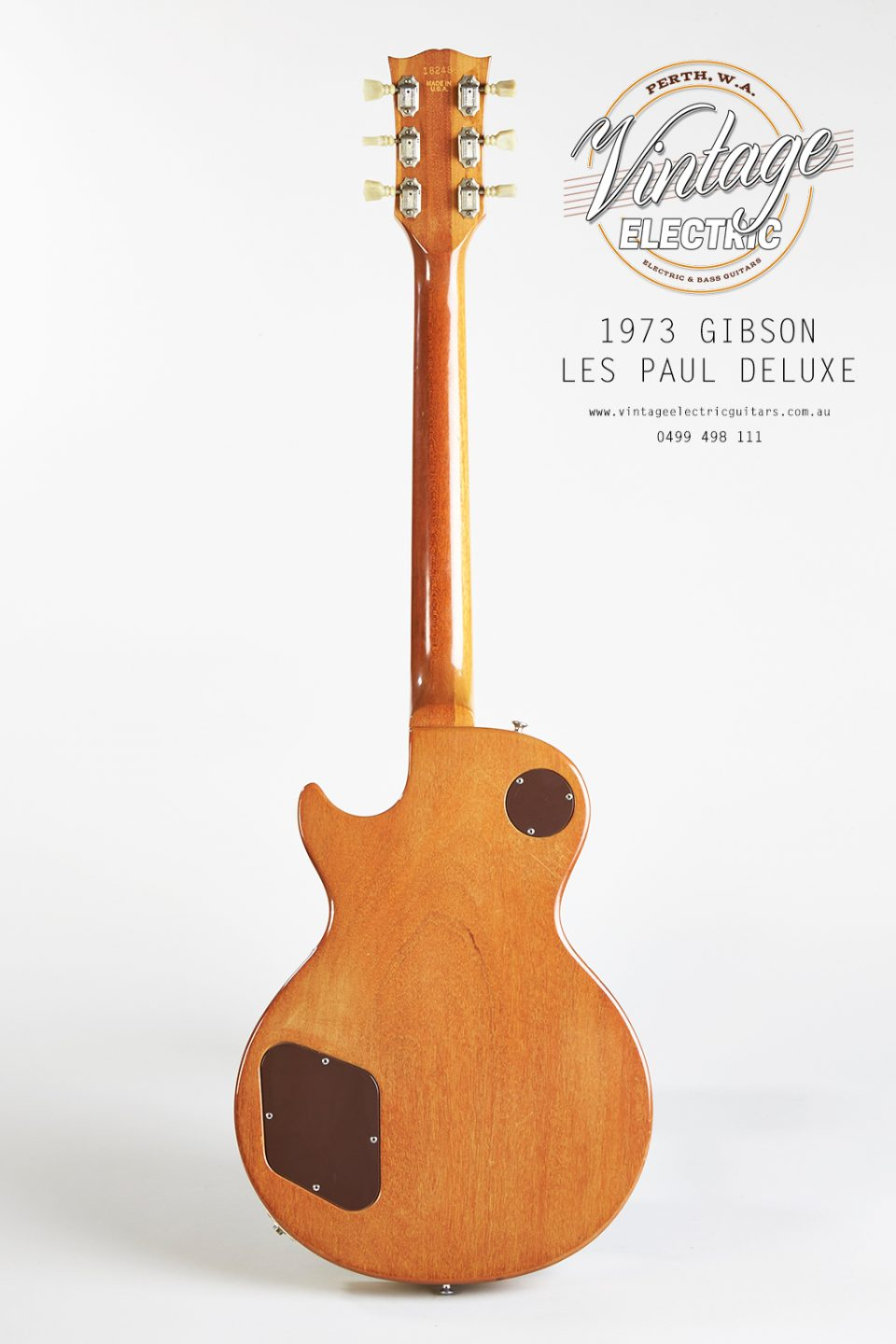 1973 Les Paul Deluxe Back of Body