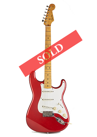 1984 Fender Stratocaster Candy Apple Red