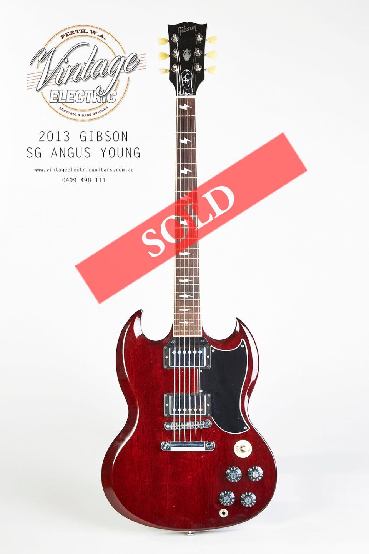 2013 Gibson SG Angus Young
