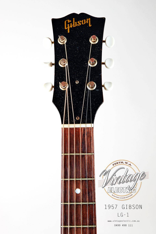 1957 Gibson LG1 Headstock