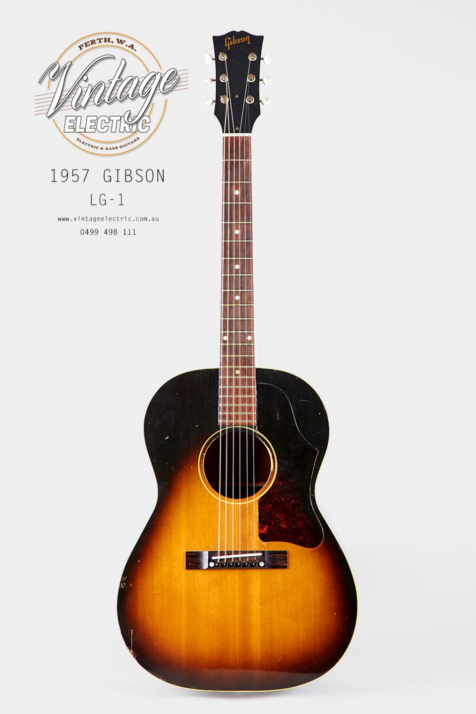 1957 Gibson LG1 Vintage Acoustic Guitar