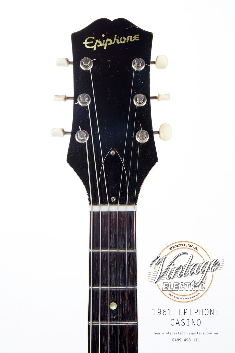1961 Epiphone Casino Headstock