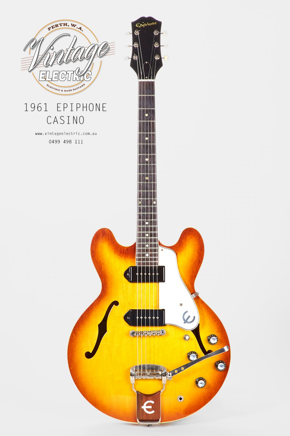1961 Epiphone Casino USA Iced Tea