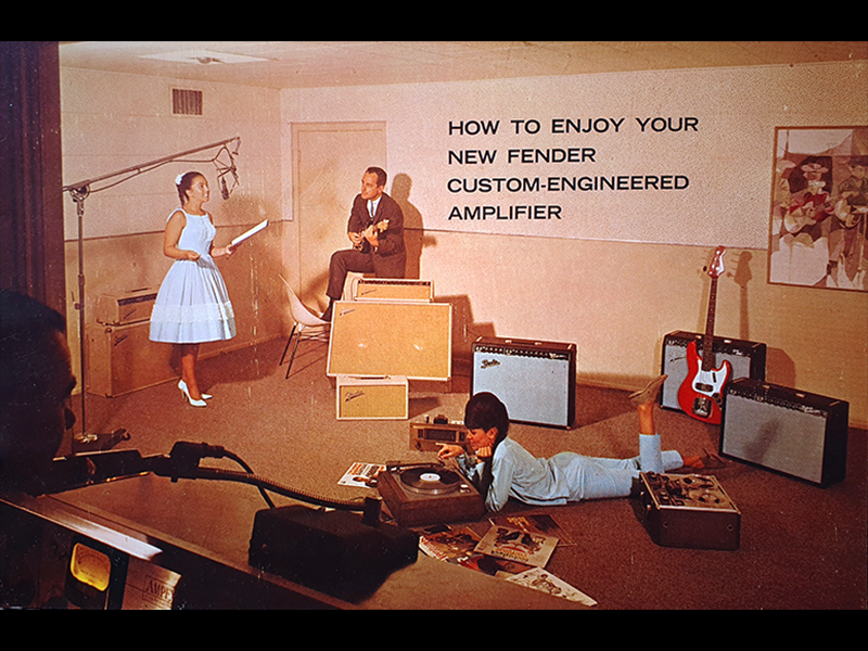 1963 1964 Fender Amplifier Manual