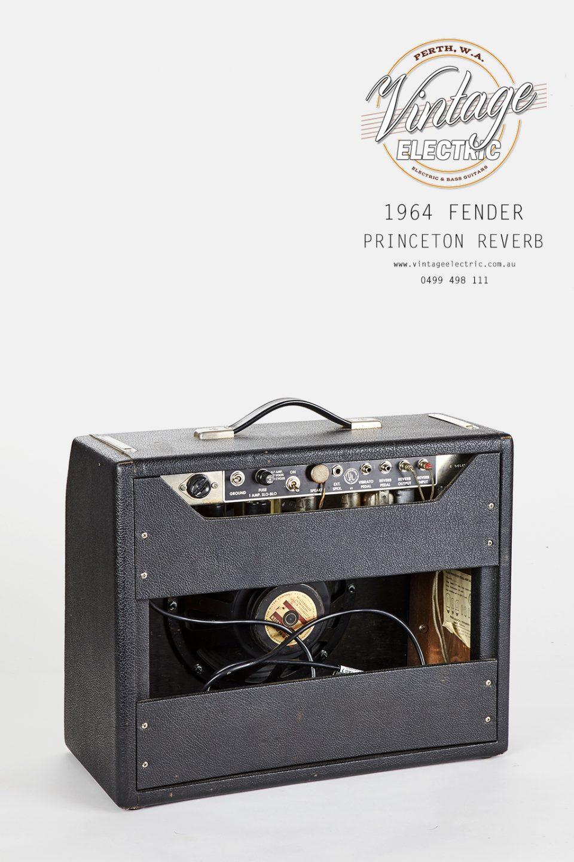 1964 Princeton Reverb Rear