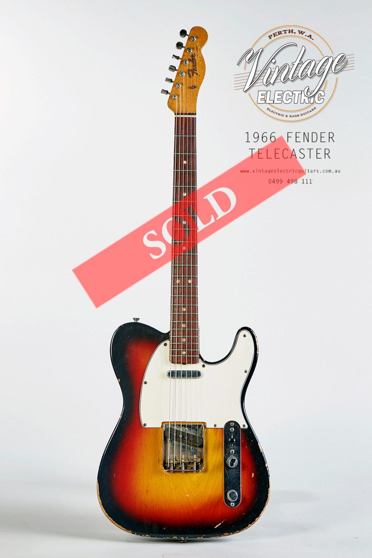 1966 Vintage Fender Telecaster