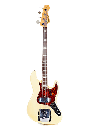 1971 Fender Jazz Bass See Through Blonde